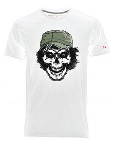 T-shirt uomo - Teschio con cappello - Blasfemus