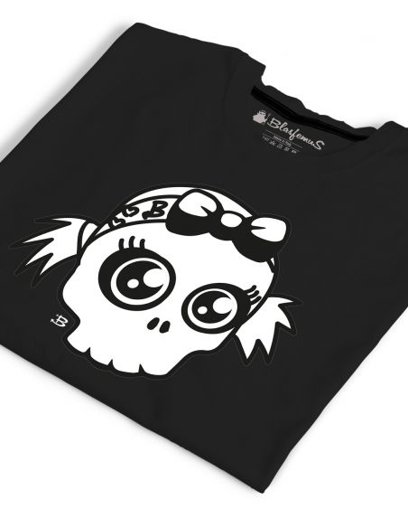 T-shirt donna - Teschio bianco - Blasfemus