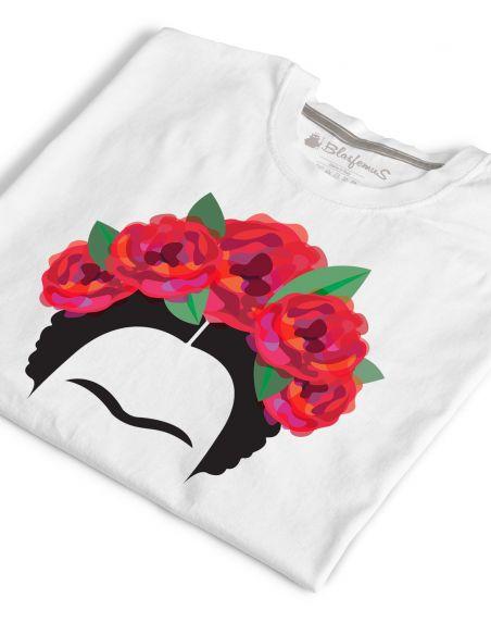 T-shirt donna - Frida Khalo teschi - Blasfemus
