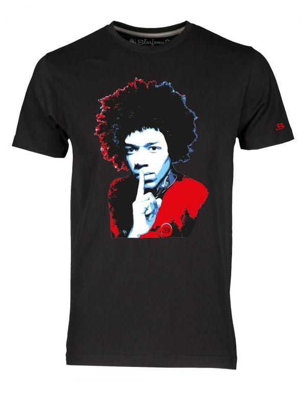 T-shirt uomo bianca - Jimi Hendrix Blasfemus