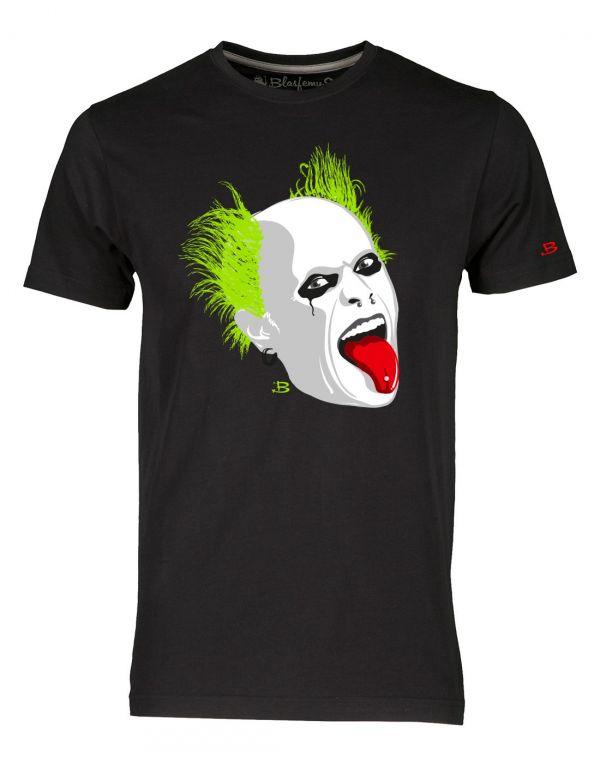 T-shirt uomo nera - Prodigy Keith Flint Blasfemus