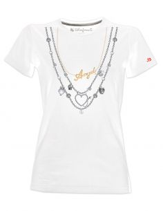T-shirt donna - Collana Angels - Blasfemus