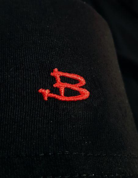 Logo B Blasfemus sulla spalla