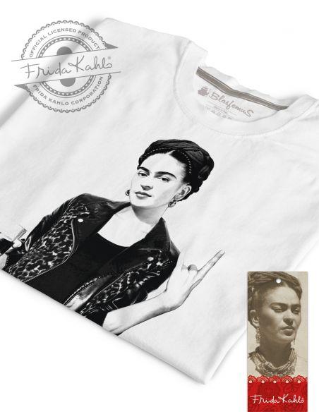 T-shirt donna - Frida Khalo Ufficiale stile rock