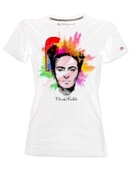 T-shirt donna - Frida Khalo Ufficiale stile Popart - Blasfemus