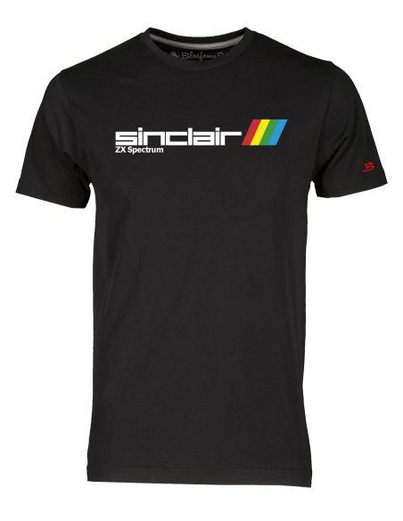 T-Shirt Uomo ZX Spectrum Vintage Nerd nera - Blasfemus
