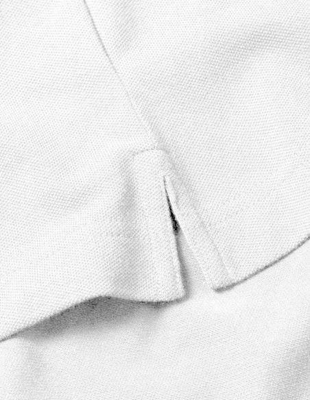 Polo Uomo - maniche corte - bianca ricamata Blasfemus