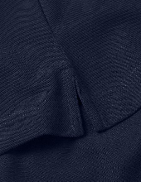 Polo Uomo - maniche corte - blue navy ricamata Blasfemus