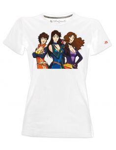 T-shirt donna Occhi di gatto cartoni animati anni 80 - Blasfemus